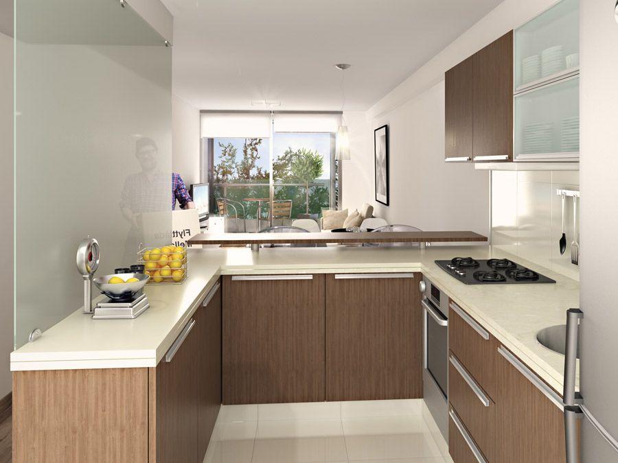 Tizado propiedades seguinos te acompa amos for Cuisine americaine petit appartement